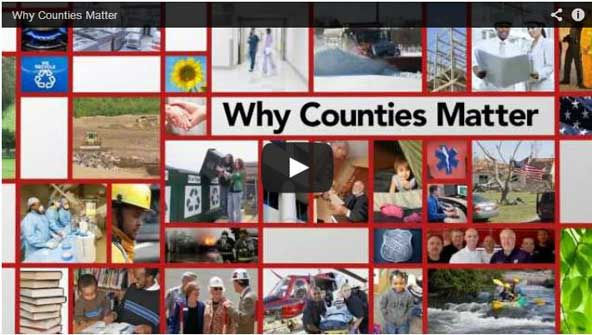 COUNTY GOVERNMENT CREATES VIBRANT COMMUNITIES